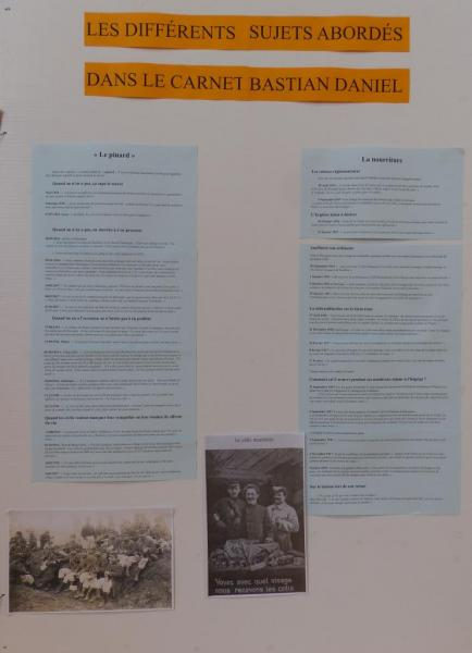 Expositions d'Allex, Publique, Guerre de 1914-1918, Panneaux(3)