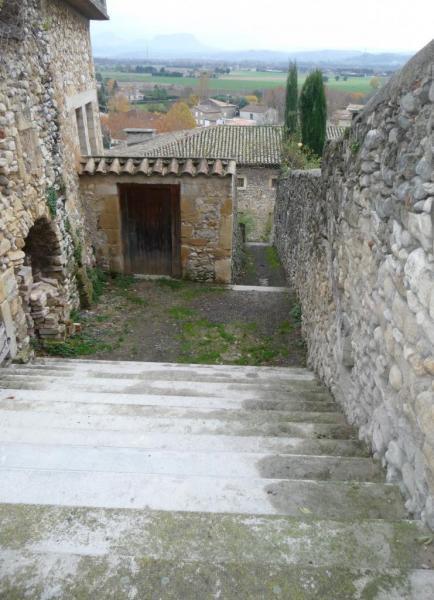 Vues d'Allex, Village, escalier du trou du Loup (2)