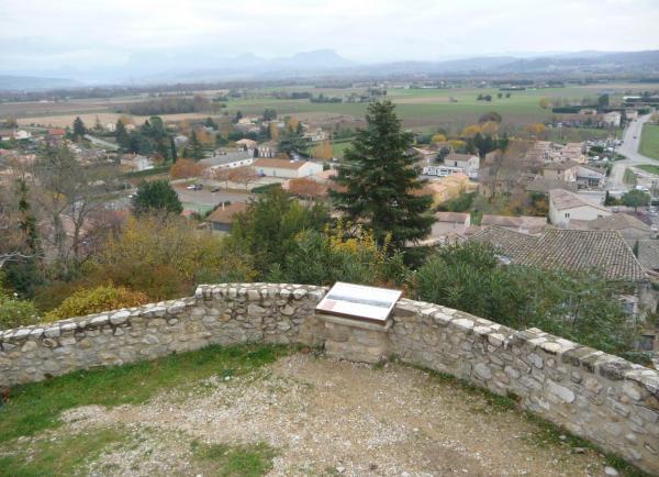 Vues d'Allex, Village, Le Belvédère