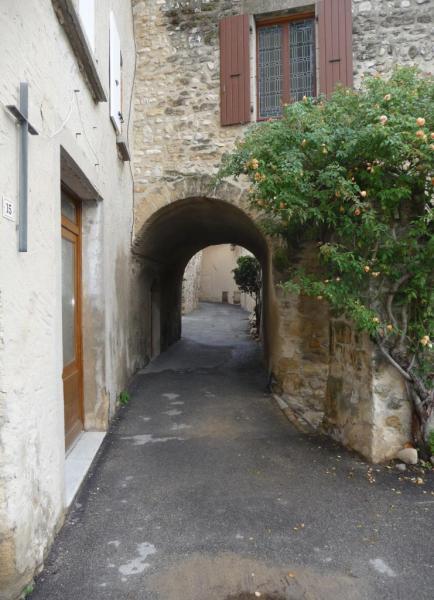 Vues d'Allex, Village, Passage de la Placette (2)