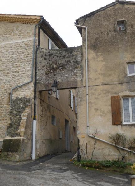 Vues d'Allex, Village, Porte de l'ancien Hôpital