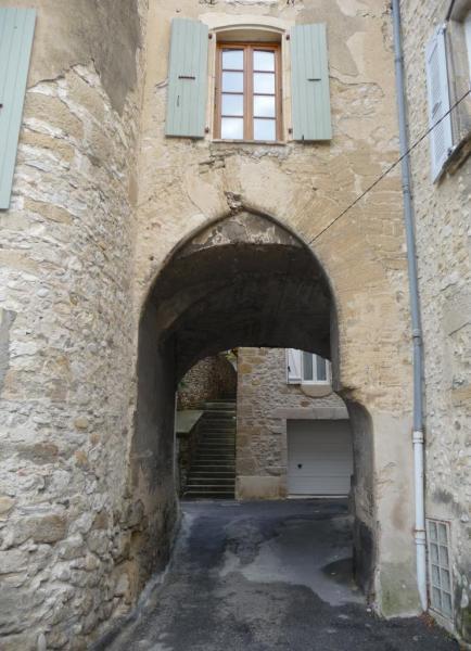 Vues d'Allex, Village, porte rue du Tuilier (2)