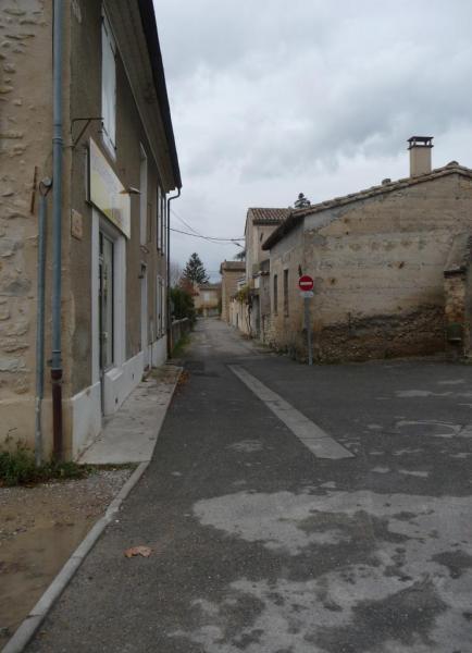 Vues d'Allex, Village, rue Barnaire