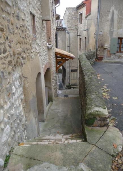Vues d'Allex, Village, rue du Centre (1)