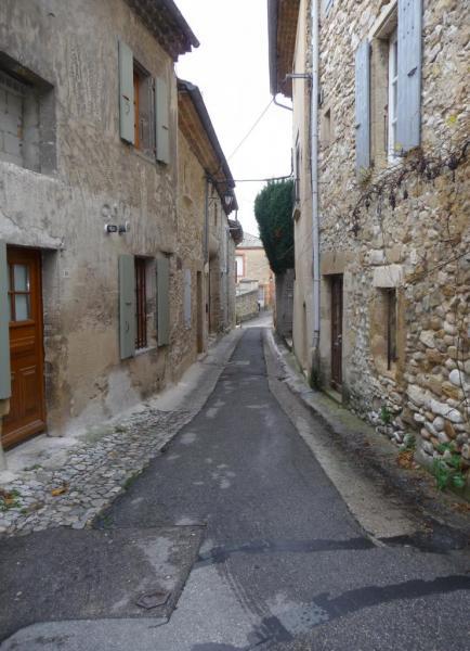 Vues d'Allex, Village, rue du Centre (2)