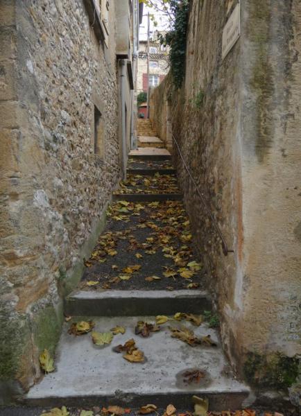 Vues d'Allex, Village, Ruelle des Remparts (1)