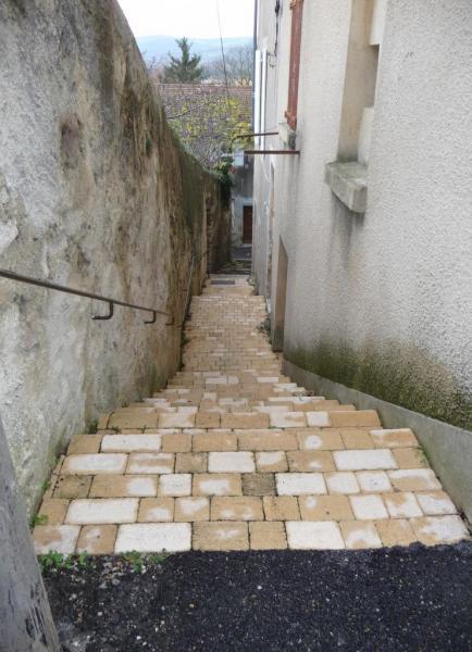 Vues d'Allex, Village, Ruelle des Remparts (2)