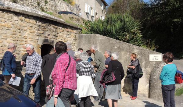 Fêtes et manifestations d allex publique visite du village mr burt gilbert