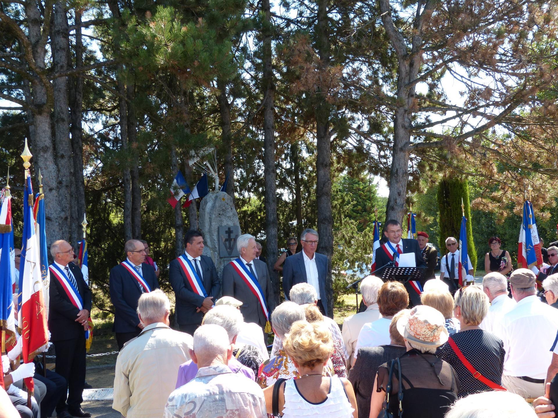 Guerres 1939 1944 commemoration du sabotage du pont de livron 13